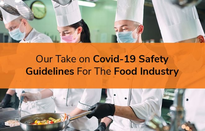 Onze Take on Covid-19 Safety Guidelines For The Food Industry