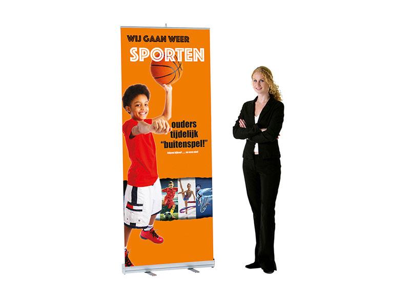 sporten mag weer banner